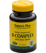 B-Komplex with Rice Bran, 90 Tabletten
