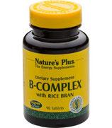 B-Komplex with Rice Bran, 90 Tabletten