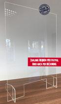 Schutzschild 60 x 90 cm