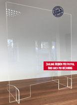 Schutzschild 90 x 90 cm