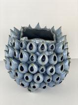 Vase mit Waben