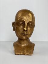 Deko-Objekt Golden Head