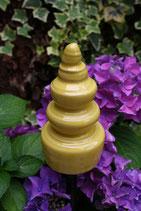 Gelbe Stabspitze aus Keramik frostfest
