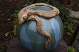Anaconda II. Schlange auf Kugel