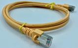 Netzwerkkabel cat5e GELB