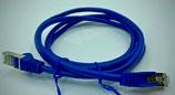 Netzwerkkabel cat5e  BLAU