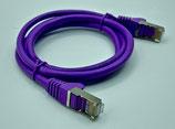 Netzwerkkabel cat5e  LILA