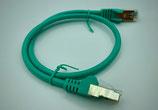 Netzwerkkabel cat5e     Farbe Grün