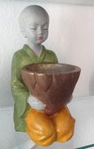 Mönch, handbemalt