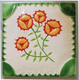 #19 Dekor vier Blüten