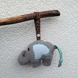 Rassel-Elefant Punkte mint