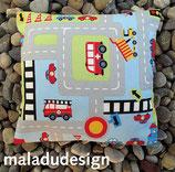 Kinder-Arvenkissen «Autostrasse»