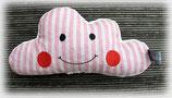 Knuddelwölkli rosa mit Streifen