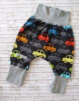 Babyhose Autos bunt