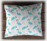Arvenkissen Flamingo mint