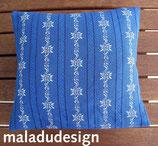 Arvenkissen Edelweiss königsblau