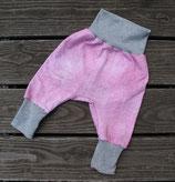 Babyhose in Jeansoptik rosa