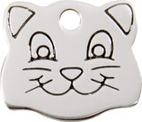 Stainless Steel Cat Face