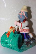 """Ковровская игрушка  """" Золотая рыбка"""""""