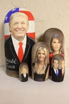 "Матрешка ""Трамп с семьей"""