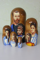"""Матрешка """"Царская семья"""""""