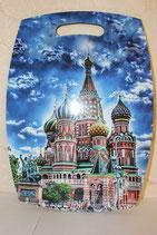 """Доска разделочная большая """"Виды Москвы"""""""
