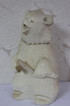 """Богородская игрушка """"Медведь с ложками"""""""