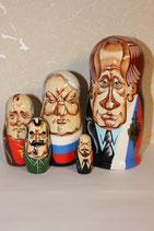 Матрешка  Путин шарж