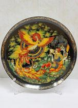 """Тарелка сувенирная """"Жар птица""""(10)"""