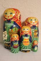 """Матрешка """"С баранками""""  5мест/17см"""