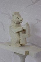 """Богородская игрушка """"Мишка и сапожок"""""""