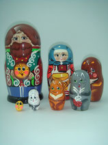 """Матрешка """"Колобок"""" 7 мест"""