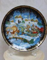 Тарелка сувенирная 10-7