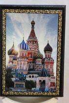 """Ежедневник А6 """" Виды Москвы"""""""