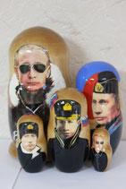 Матрешка  Путин в очках