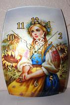 """Часы сувенирные большие """"Красны Девицы"""""""
