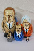 """Матрешка мини шарж """"Путин"""""""