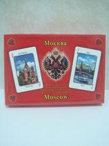 """Карты игральные """"Москва"""" 2х55 листов"""