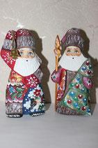 Дед Мороз резной