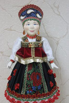 Кукла шкатулка для конфет