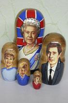"Матрешка ""Королева Елизавета"""