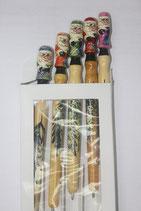 Ручка деревянная  Дед мороз