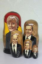 "Матрешка ""Меркель"""