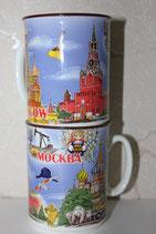 Кружка керамическая Москва