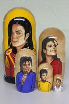 """Матрешка """"Майкл Джексон"""""""