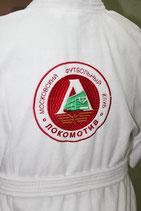 Халат махровый с лого на спине