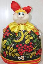 "Кукла на чайник ""Марфуша"" хохлома"