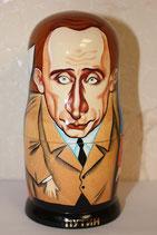 """Матрешка шарж """"Путин-Трамп и другие"""" 5мест"""