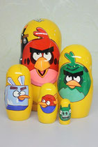 "Дисней Матрешка ""Angry Birds"""