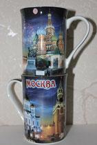 Кружка керамическая Москва ночь